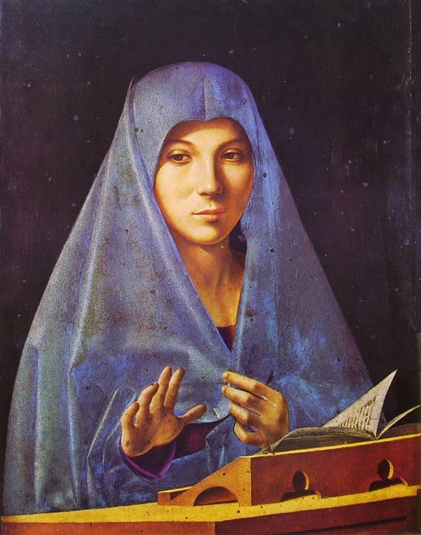L'Annunciata di Antonello da Messina - Ph. A. Gaetani EspritdeParis