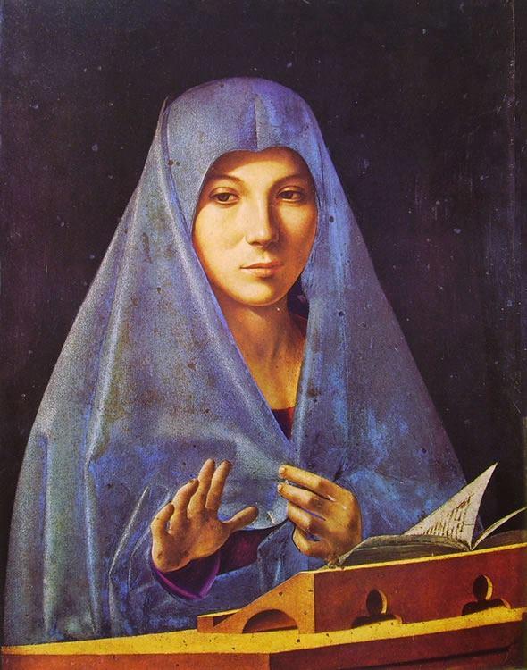 L'Annunciata di Antonello da Messina - Ph. A. Gaetani EspritdeParis