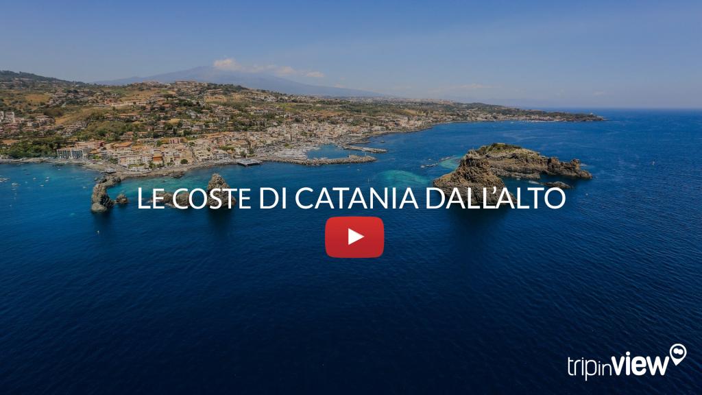 Catania - Le coste dall'alto