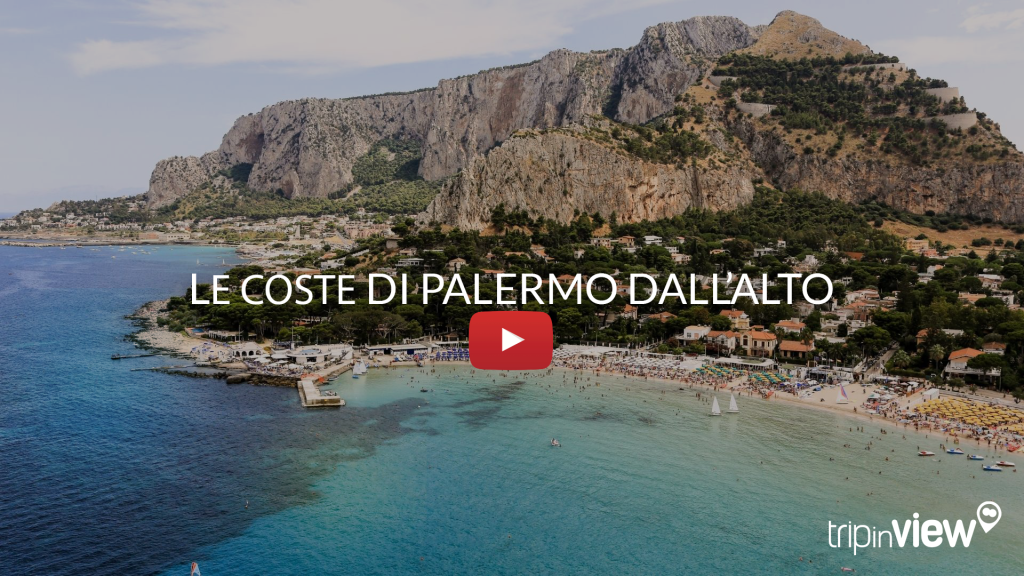Coste di Palermo in elicottero