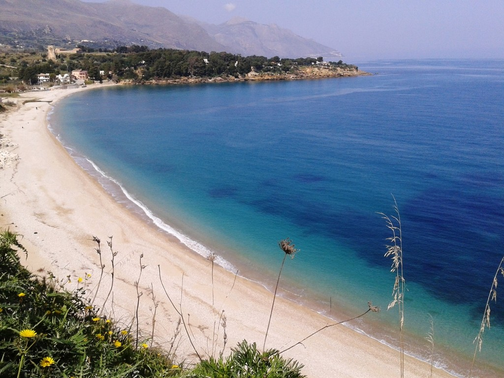 Sicily beach Guidaloca Scopello
