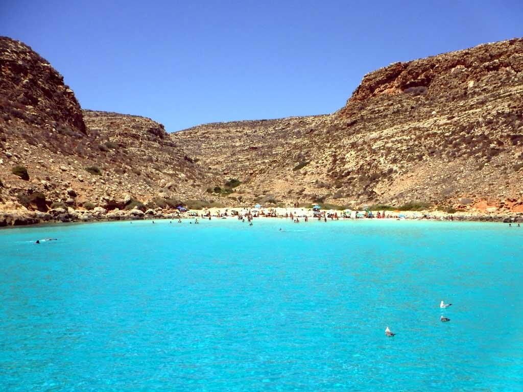 Cala Pulcino, Lampedusa - Ph Mannarano