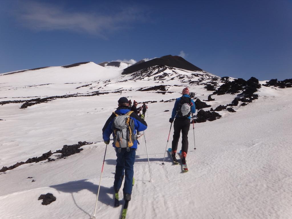 Sci di fondo sull'Etna - ph. L. Patti