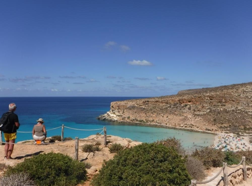 Spiaggia dei Conigli, Lampedusa - Ph. Marta Mannarano