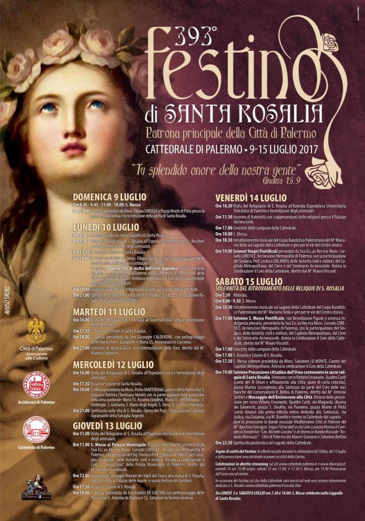 393 festino Santa Rosalia