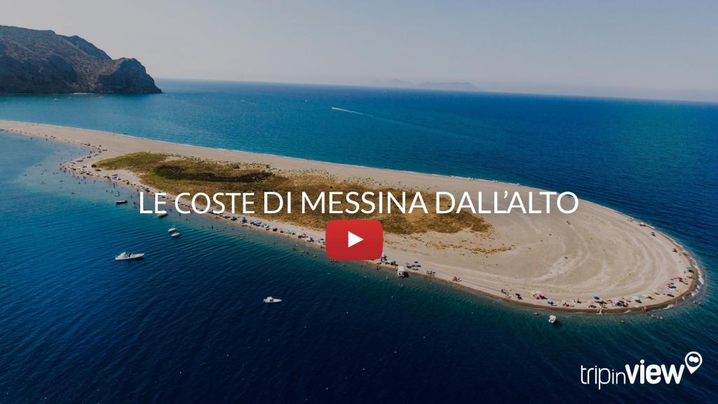 Messina e le sue coste dall'alto
