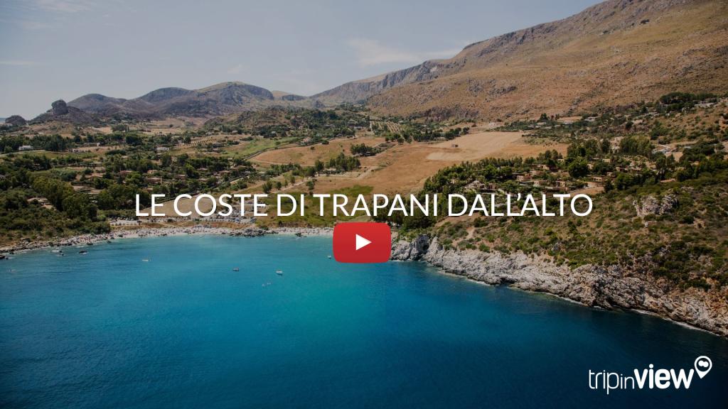 Trapani - Le coste dall'alto