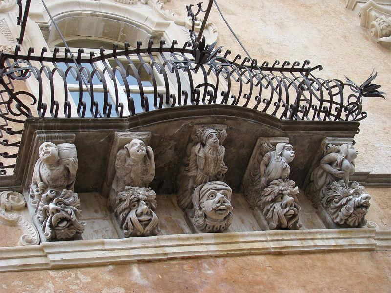 Ragusa Ibla - Balcone