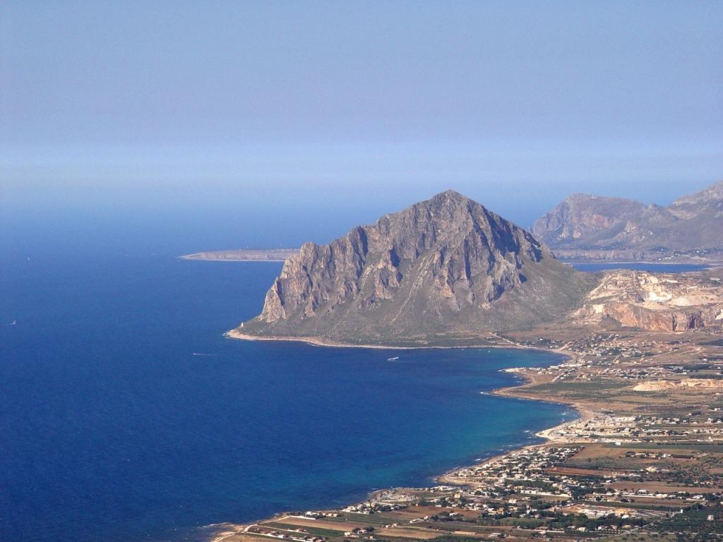 Veduta sul Monte Cofano - Ph I. La Barbera