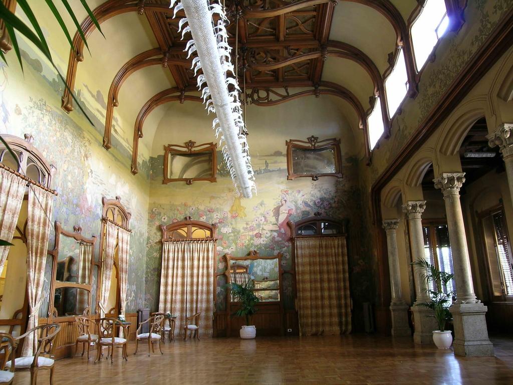 interno Villa Igea - ph. Ignazio La Barbera