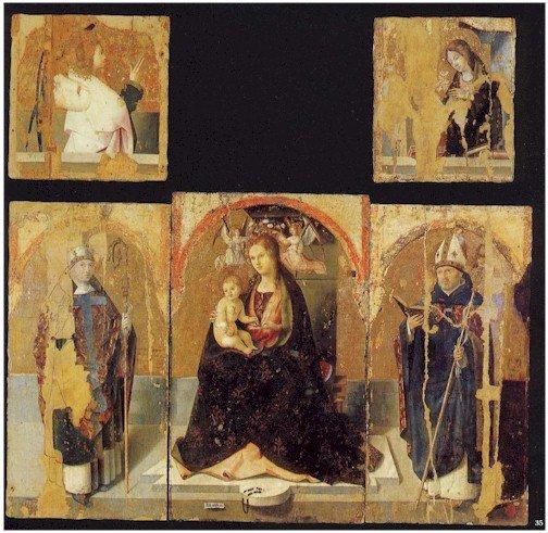 Polittico di San Gregorio di Antonello da Messina - ph. @ipe_rosa1