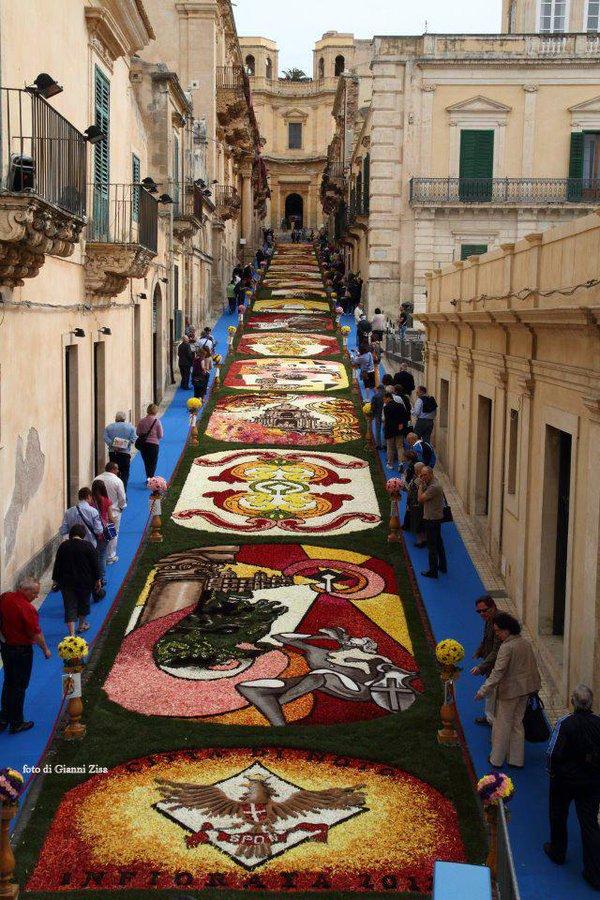 Infiorata Sicily Noto
