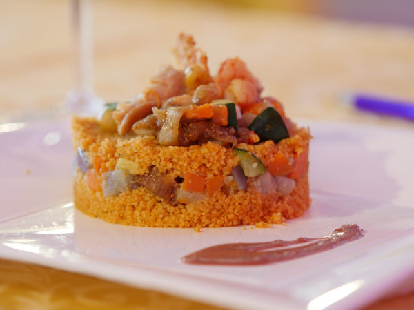 Cous cous with vegetables - ph Feeedback per Cous Cous Fest