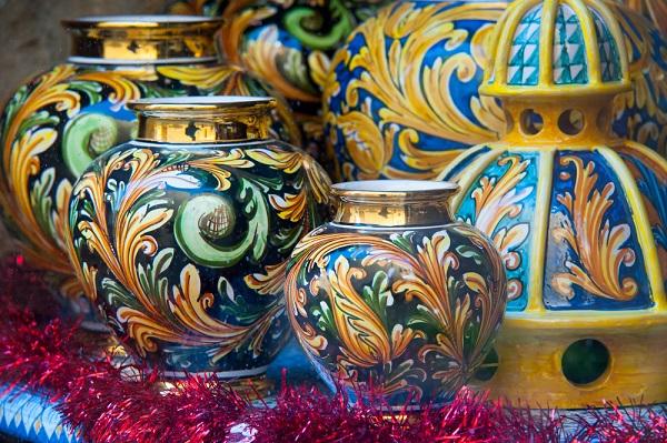 Le ceramiche di Caltagirone - ph Marco Ossino