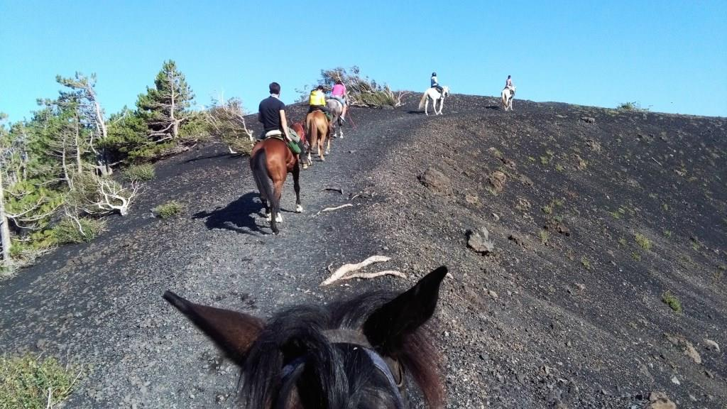Etna a cavallo - Ph.  Sicily horse riding