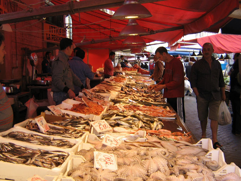 Siracusa - Mercato di Ortigia