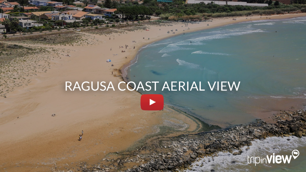 RAGUSA coast aerial view