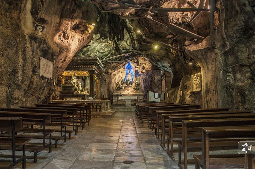 interno Santuario Santa Rosalia, Palermo - ph.visitarepalermo.it