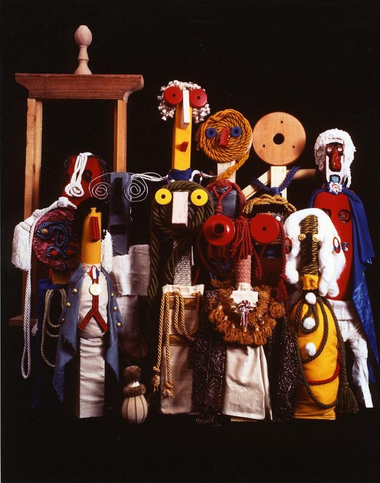 marionette da tavolo di Enrico e Andrea Baj by museo Pasqualino
