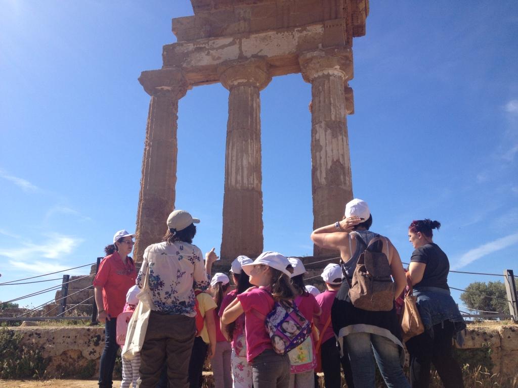 visita alla Valle dei Templi, Agrigento