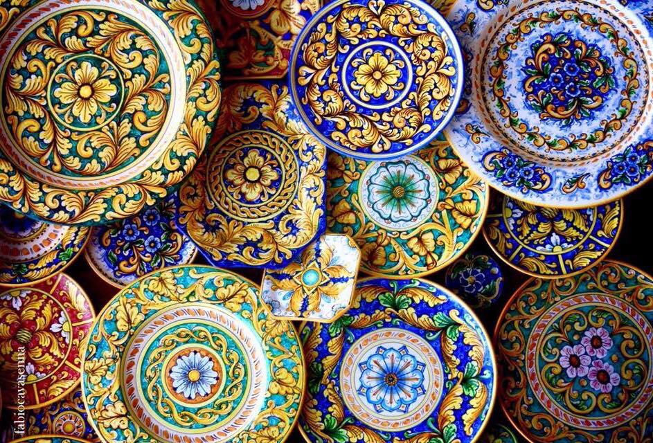 Ceramica artistica di Erice - ph. Fabio Cavasenna