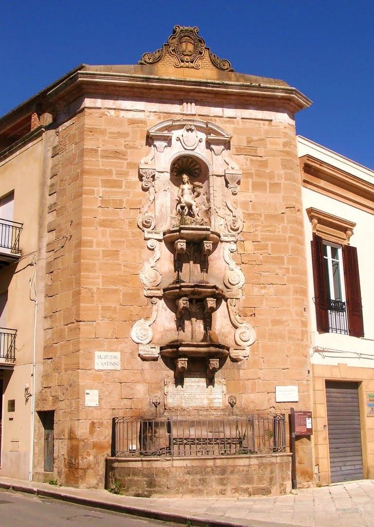 Castelvetrano Fontana della Ninfa - ph Panoramio