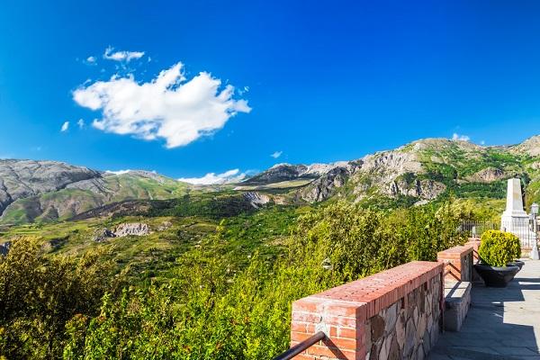 La catena montuosa delle Madonie - Magati