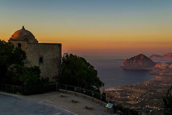 tramonto - Erice - ph. Domenico Modesti