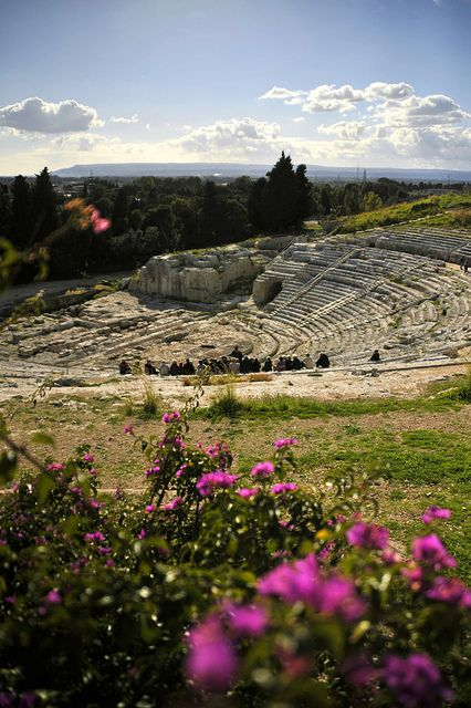 Teatro greco, Siracusa - ph.joelmetlen by flickr
