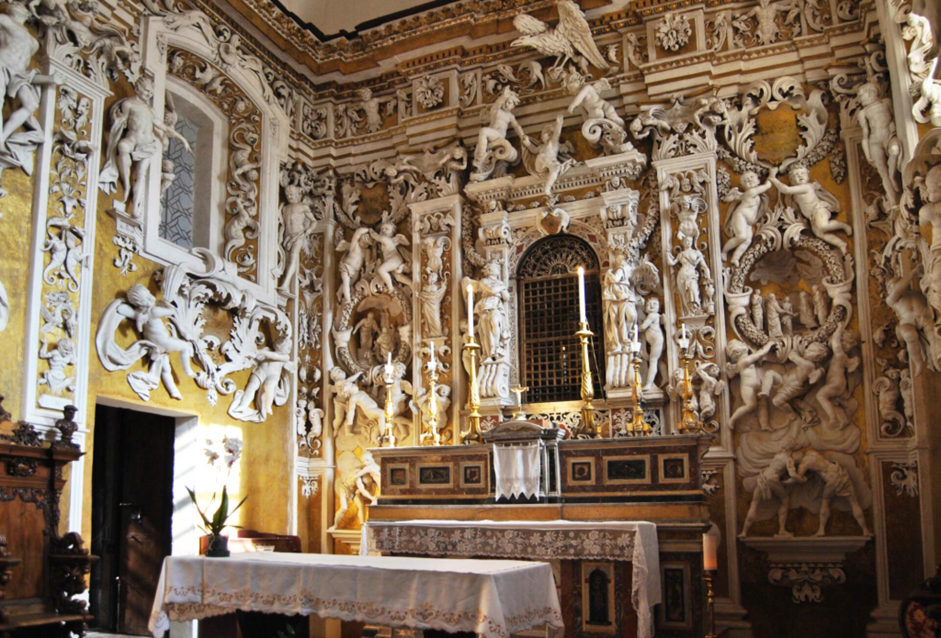 Castelbuono Cappella Palatina