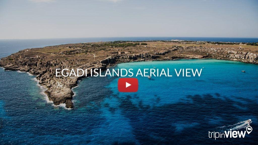 Egadi aerial view