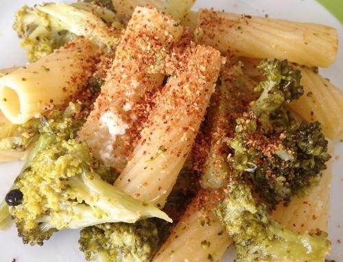 Pasta con broccoli arriminati