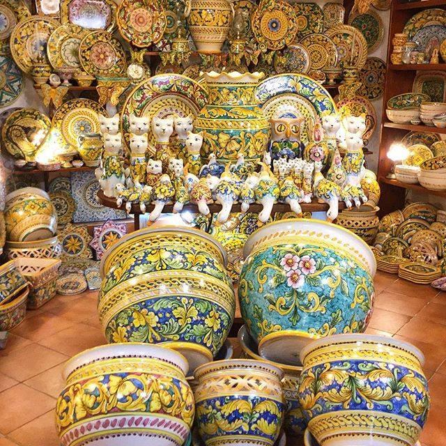 ceramiche di Caltagirone - ph Bianca Ferraro