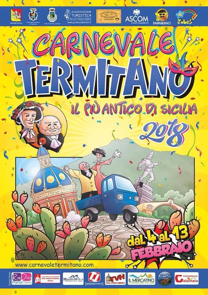 Carnevale Termitano. 4 - 13 febbraio 2018. Termini Imerese