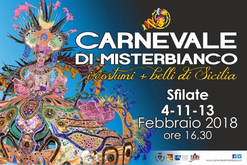 Carnevale di Misterbianco. 4 - 13 febbraio 2018. Misterbianco