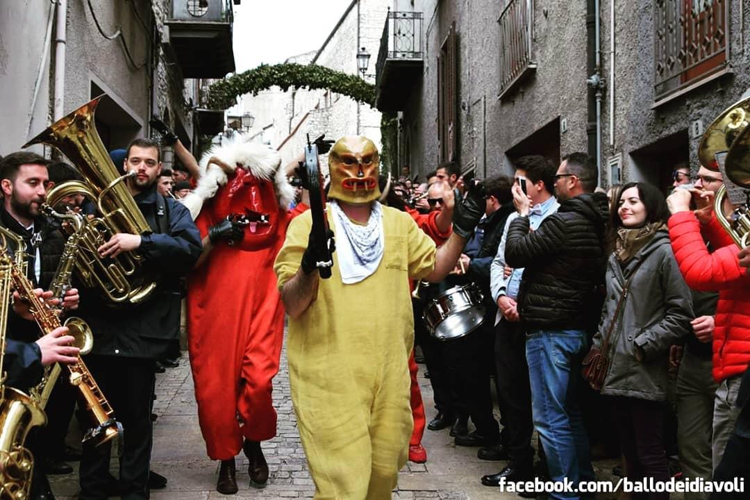 ballo dei diavoli a prizzi
