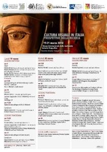 Cultura visuale in Italia Prospettive della ricerca palermo