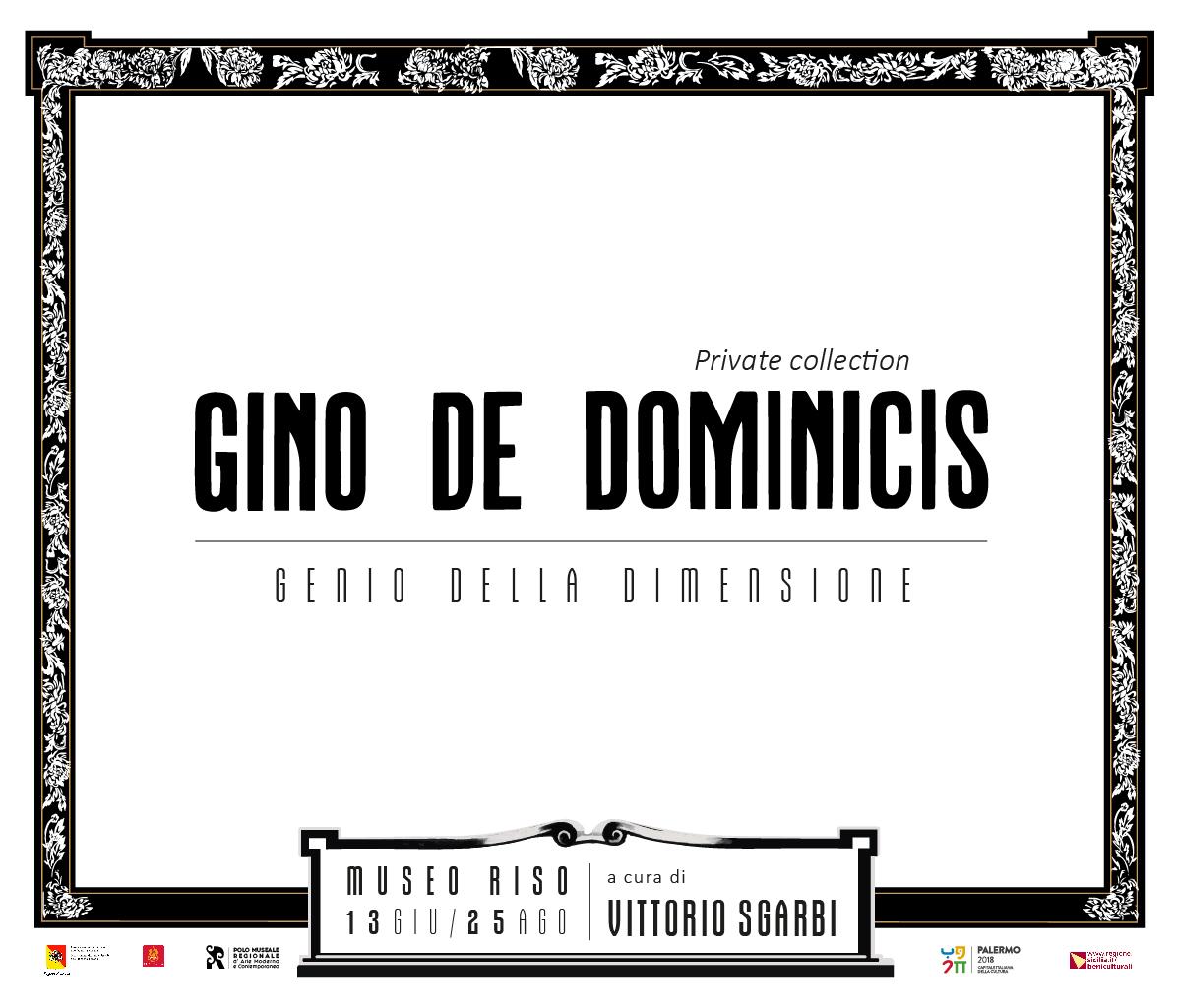 """""""GDD – GENIO DELLA DIMENSIONE"""" DI GINO DE DOMINICIS"""