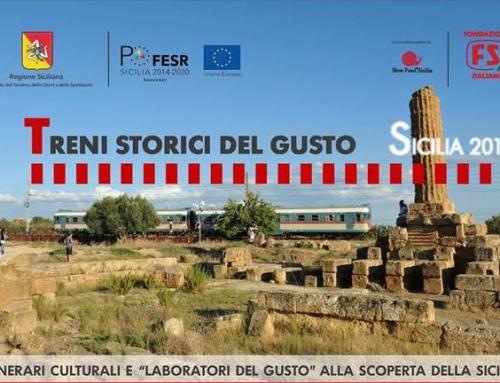 Treni Storici del Gusto – Sicilia 2018
