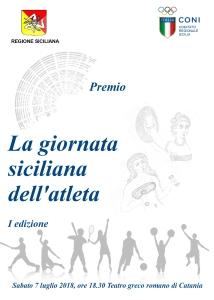 La giornata siciliana dell'atleta