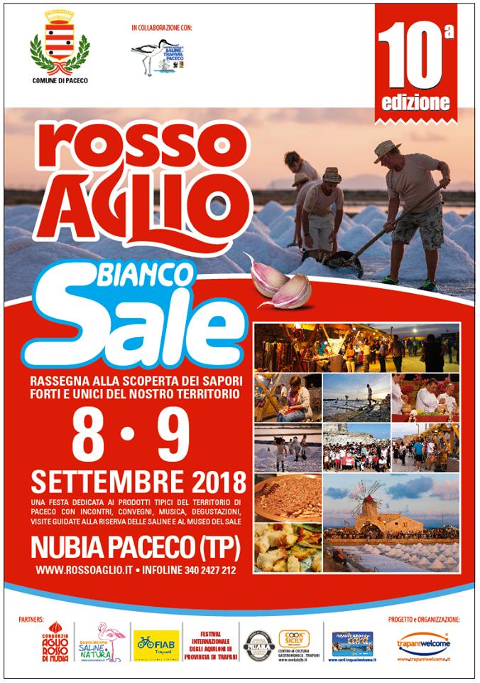 ROSSO AGLIO BIANCO SALE - DECIMA EDIZIONE
