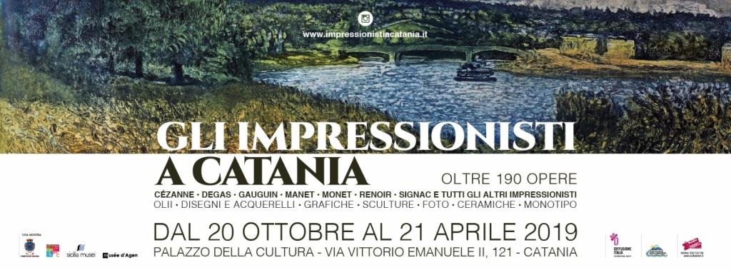 Gli impressionisti in mostra a Catania