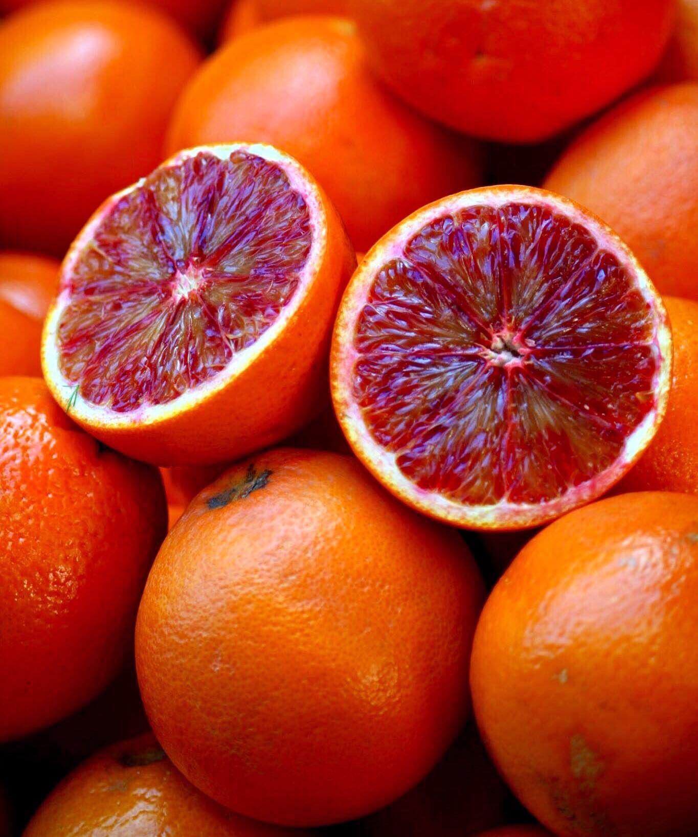 Sicilian blood oranges - ph Fabio Cavasenna