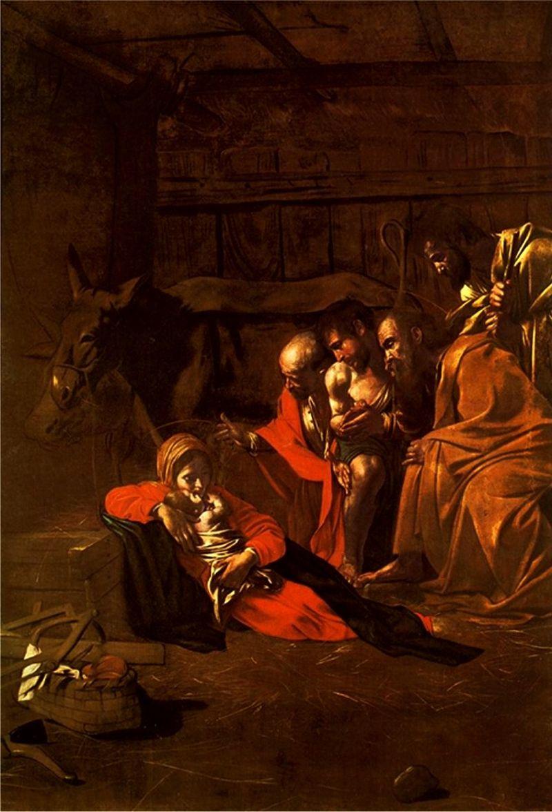 800px-Caravaggio_-_Adorazione_dei_pastori