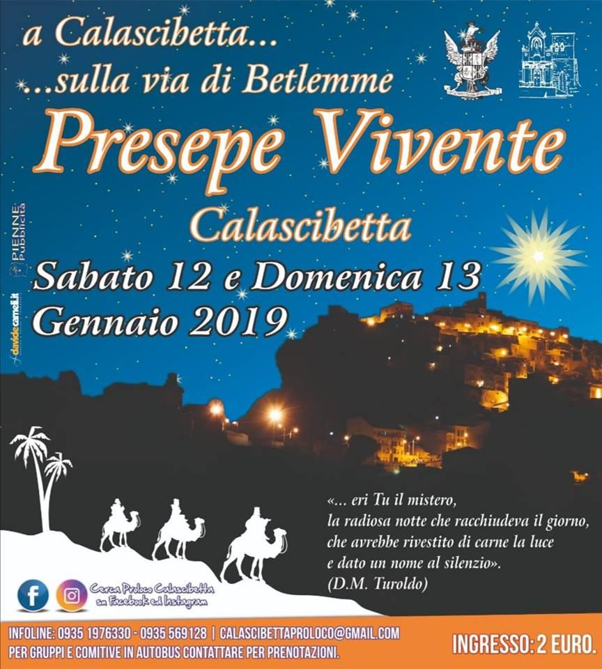 Calascibetta Presepe