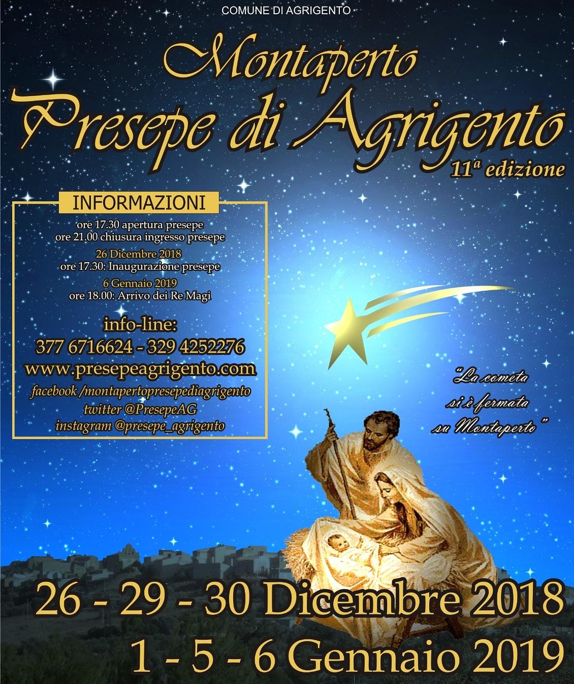 Presepe Montaperto - Agrigento