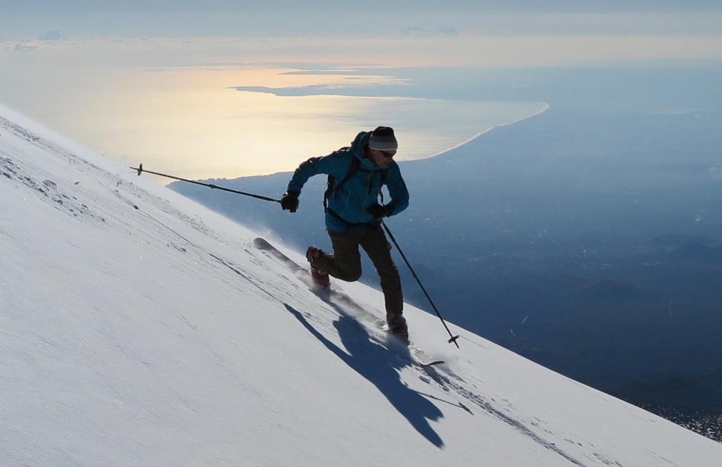 Natale sull'Etna, sci vista mare - ph, Leonardo Patti