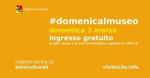 #DomenicalMuseo-sicilia-2019