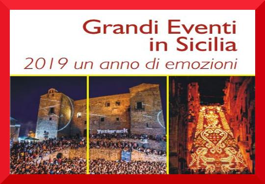 grandi eventi 2019 sicilia