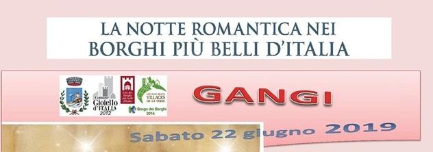 Notte Romantica dei Borghi Gangi